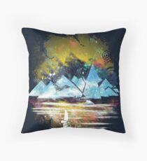 iceland islands Throw Pillow