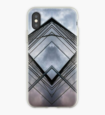 Glass Lines 2 iPhone Case