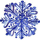 Beautiful watercolor snowflakes  by OlgaBerlet