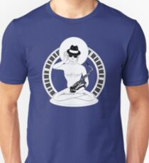 Sit five… the jazz Buddha Unisex T-Shirt
