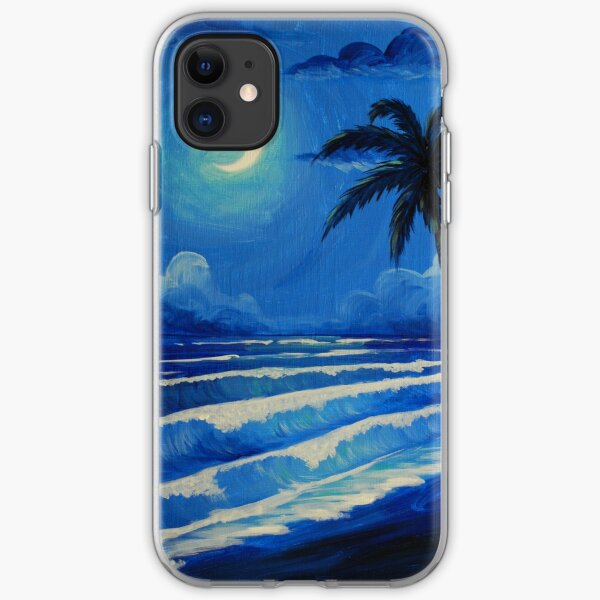 Moonlit Waves iPhone Soft Case
