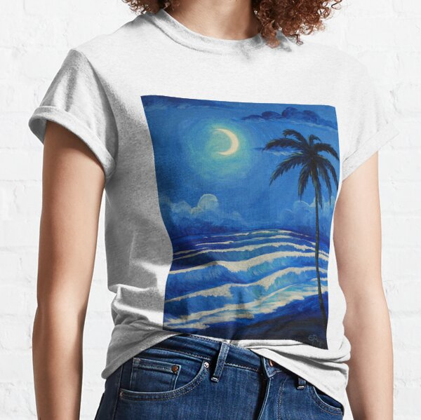 Moonlit Waves Classic T-Shirt