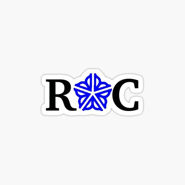 ROC BLUE Sticker