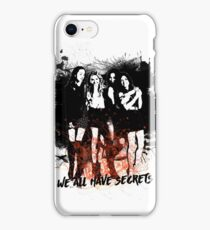 We all have secrets iPhone Case/Skin