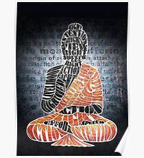 The Eightfold Path Buddha Poster