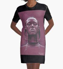 Afrikanerin T-Shirt Kleid