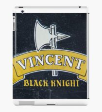 Vincent Black Knight iPad Case/Skin