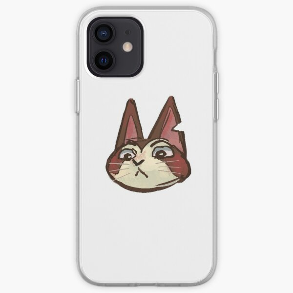 happy cat sticker (collection 3/8) iPhone Soft Case