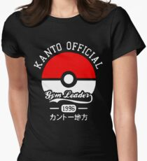 Kanto official gym leader Women's Fitted T-Shirt