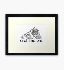 Adidas Architecture Framed Print