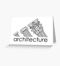 Adidas Architecture Greeting Card