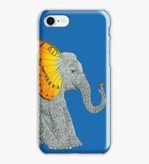 Elephant and Butterfly iPhone Case/Skin