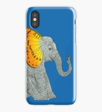 Elephant and Butterfly iPhone Case