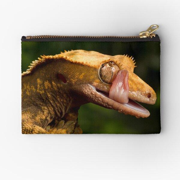 Crested Gecko Zipper Pouch