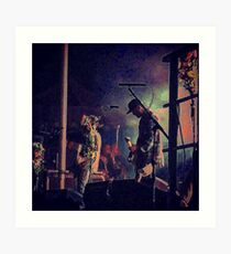 Jesse Lacey- Brand New Concert 2 Art Print