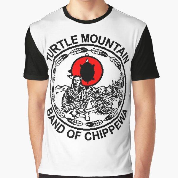 Turtle Mountain Band of Chippewa  Graphic T-Shirt