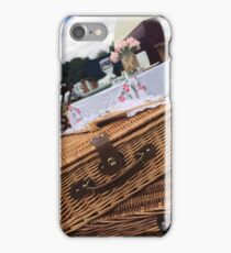 Picnic Vintage photo  iPhone Case/Skin