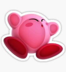 Smashed Kirby Sticker