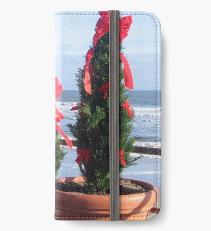 Off-season Seasonal Cheer iPhone Wallet