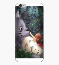 Totoro with Mei iPhone Case