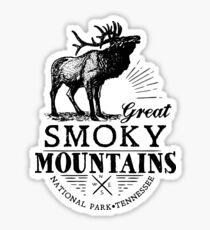 GREAT SMOKY MOUNTAINS NATIONAL PARK SMOKIES GATLINBURG PIGEON FORGE Sticker