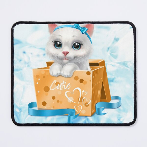 Ms Kitty  Mouse Pad