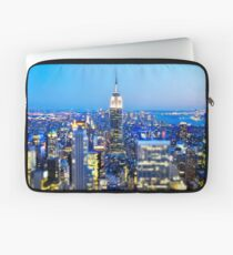 Empire State Building at Night: NYC Laptop Sleeve