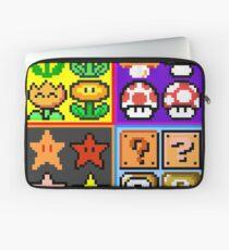 Mario Power-Up Evolution Laptop Sleeve