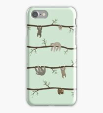sloths iPhone Case/Skin