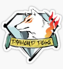 Diamond Okami Sticker