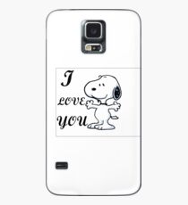 snoopy  Case/Skin for Samsung Galaxy