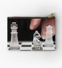 Chess 101: The knight moves to put the king in check Studio Pouch