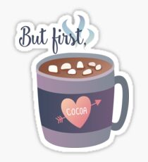 But first, Cocoa Sticker