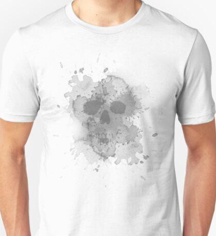 Water stain skull T-Shirt