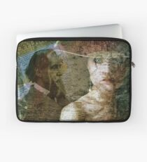 The Faces of Time Laptop Sleeve