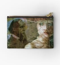 The Faces of Time Studio Pouch