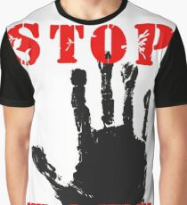 Stop the Hate Graphic T-Shirt