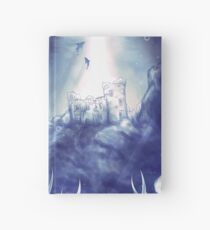 Underwater World- Mermaid and Castle Hardcover Journal