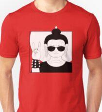 The Heavy Metal Buddha Unisex T-Shirt