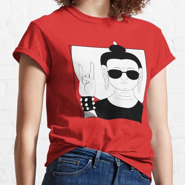 The Heavy Metal Buddha Classic T-Shirt