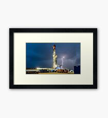 Wild Outback Weather Framed Print