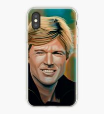 Robert Redford Painting iPhone Case