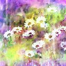 Lavender & Daisies Impression by Darlene Lankford Honeycutt