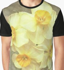 NARCISSUS BEAUTIFUL EYES (Daffodils) Graphic T-Shirt