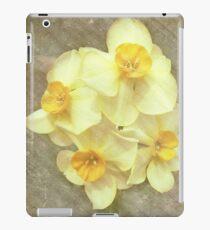 NARCISSUS BEAUTIFUL EYES (Daffodils) iPad Case/Skin