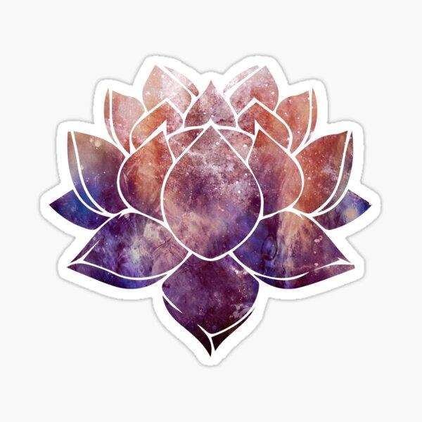 Buddhistische Lotusblume Sticker