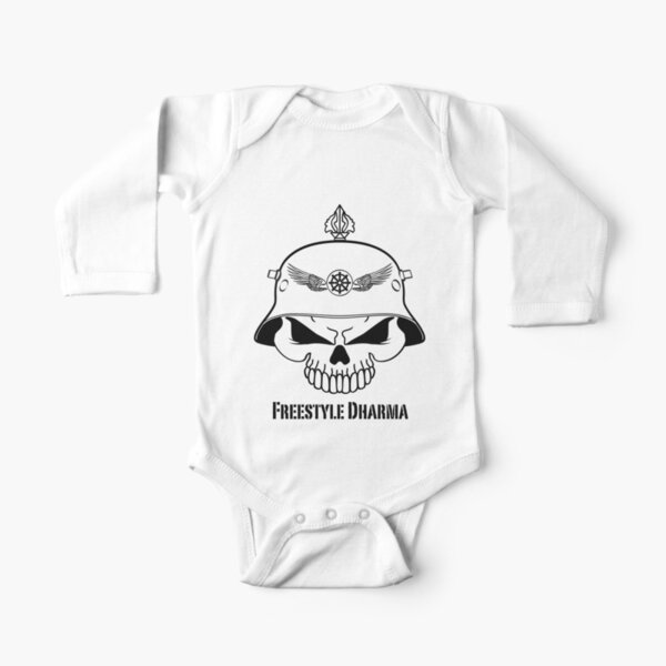 Freestyle Dharma Long Sleeve Baby One-Piece