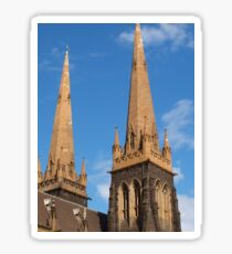 Towers of St Patrick Sticker