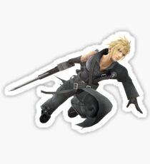 Cloud Strife - Smash 4 Sticker