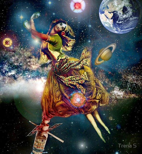 Space Gypsy Collab with Andy Nawroski!! by Trena S